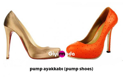 Pump ayakkabı (pump shoes)