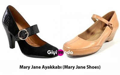 Mary Jane Ayakkabı (Mary Jane Shoes)