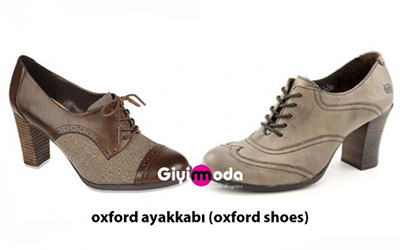 Oxford ayakkabı (Oxford shoes)