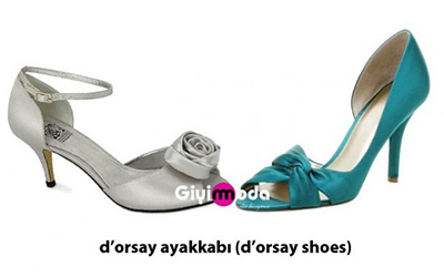D'orsay ayakkabı (d'orsay shoes)