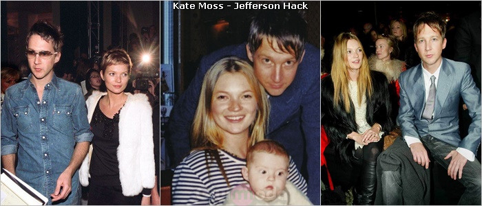 Kate Moss ve Jefferson Hack