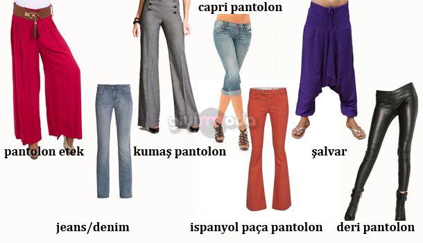 c18444137c43f Bayan Jean ve Pantolon Çeşitleri Nelerdir?