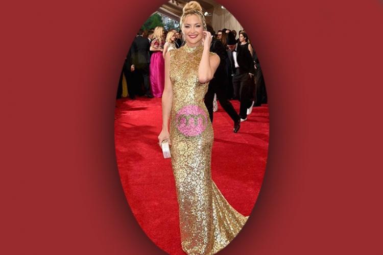 Kırmızı Halı - Gold Elbise Modelleri