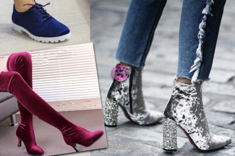 Kadife Ayakkabı Modelleri