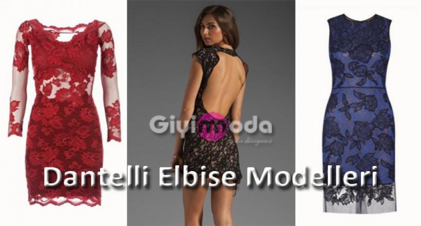Dantelli Elbise Modelleri İle Zerafet
