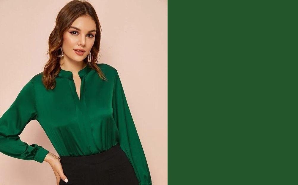 Yeşil Bluz Kombinleri