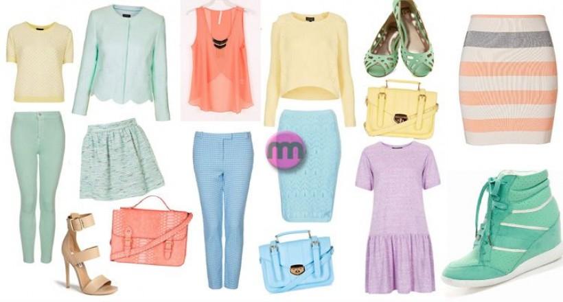 Pastel Renkler Nasıl Giyilir?