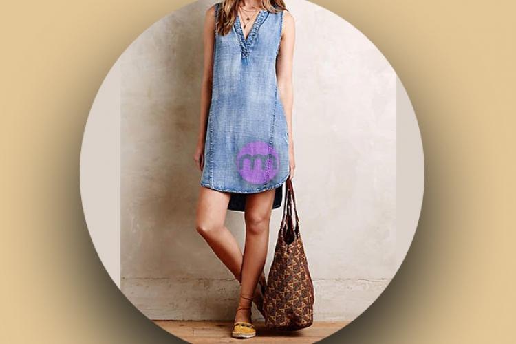 Denim Elbise Modelleri