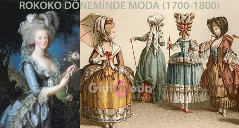Rokoko Giyim Tarzı (1700-1800 Fransa)