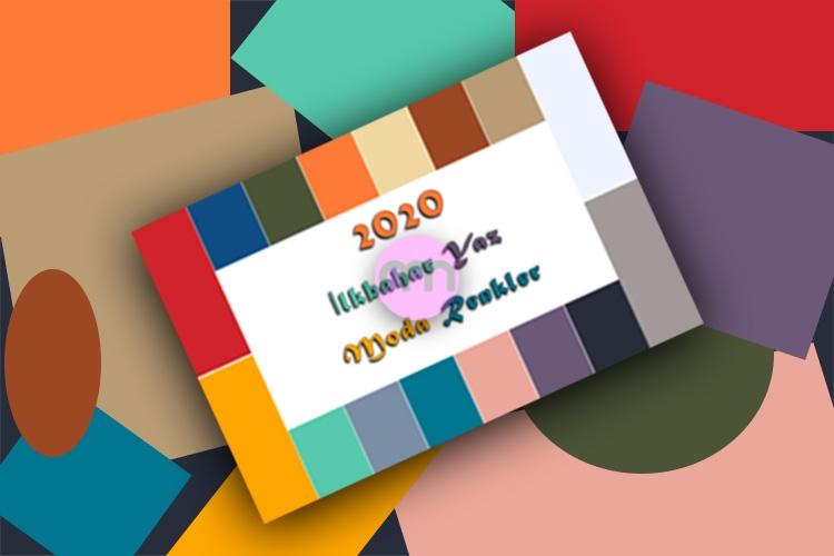 2020 İlkbahar Yaz Renkleri