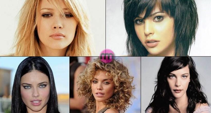 Yüz Şekline Uygun Saç Modelleri