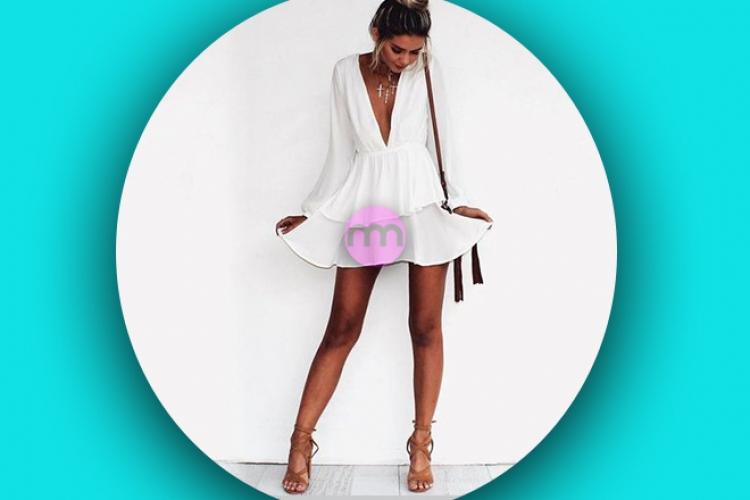 Beyaz Yaz Elbiseleri