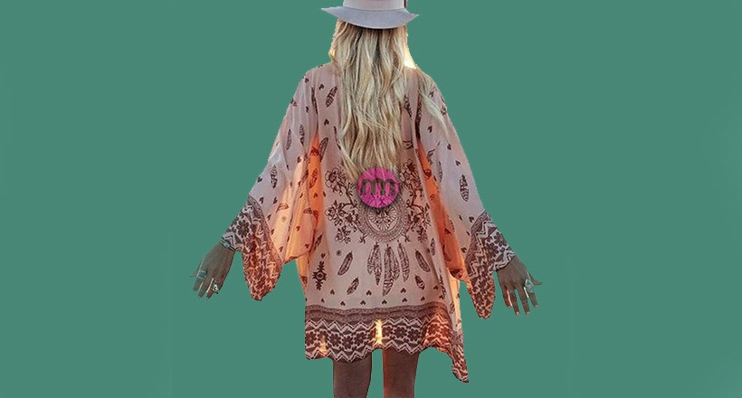 Şifon Kimono Modası