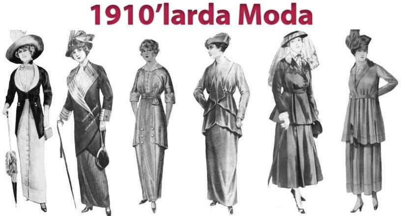 1910'larda Moda