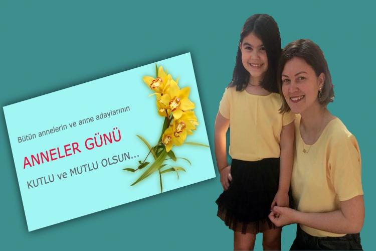 Anneler Günü İçin Anne-Kız Kombini