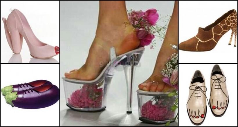 Görebileceğiniz En Sıra Dışı ve Farklı Ayakkabılar