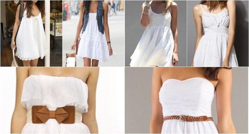 Beyaz Elbise Nasıl Giyilir?