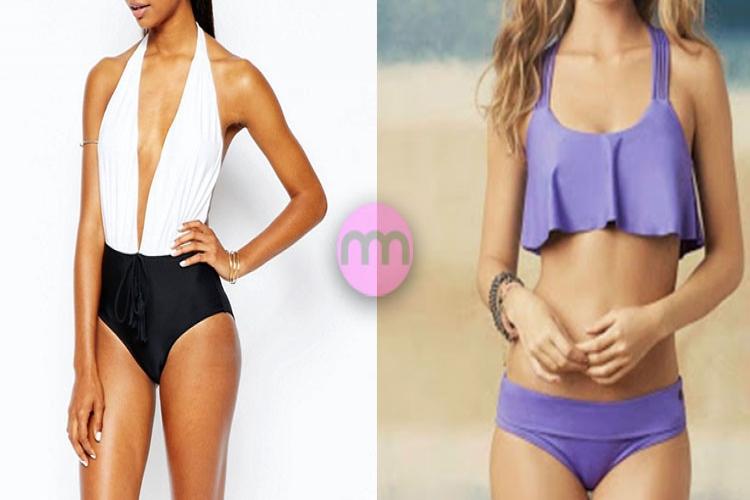 Küçük Göğüslü Kadınlar Nasıl Bikini ve Mayo Seçmeli?