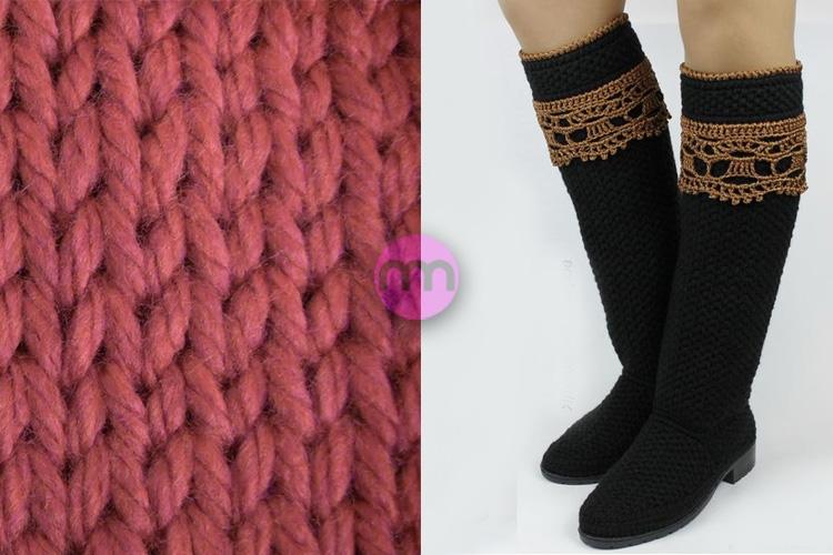 Örgü Ayakkabı ve Çizme Modası