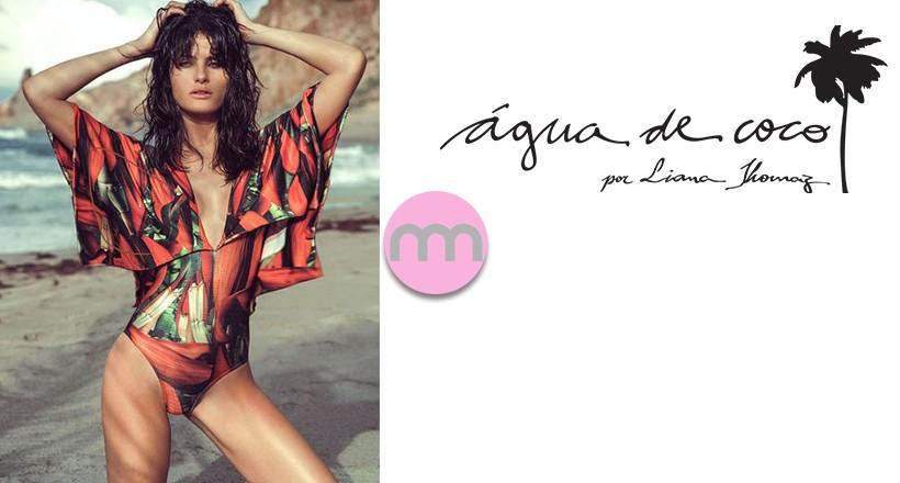 Agua de Coco 2016 Mayo ve Bikini Modelleri (Isabeli Fontana)