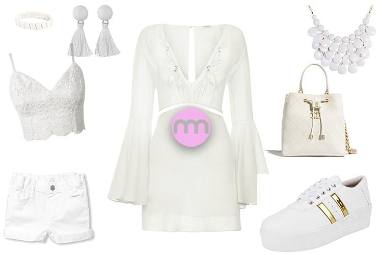 Beyaz Kıyafet ve Aksesuarlar Nasıl Kombinlenir?