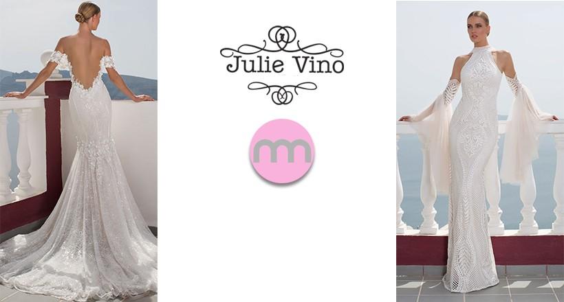 2016 Julie Vino İlkbahar Yaz Gelinlik Modelleri