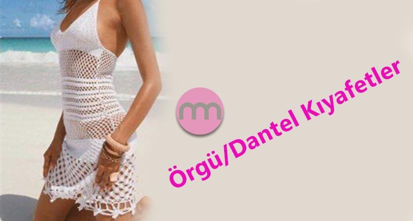 Örgü, Dantel Kıyafet Modelleri