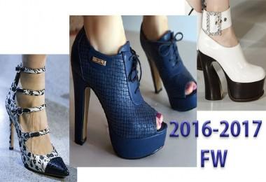 2016-2017 Sonbahar Kış Sezonunun Bayan Ayakkabı Trendleri