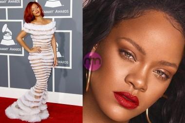 Rihanna Kırmızı Halı Elbiseleri